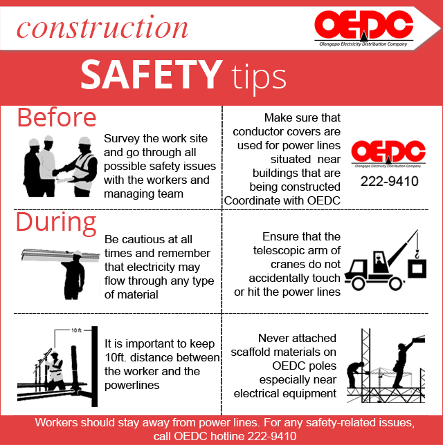 Tipid Safety Tips Oedc Olongapo Electricity